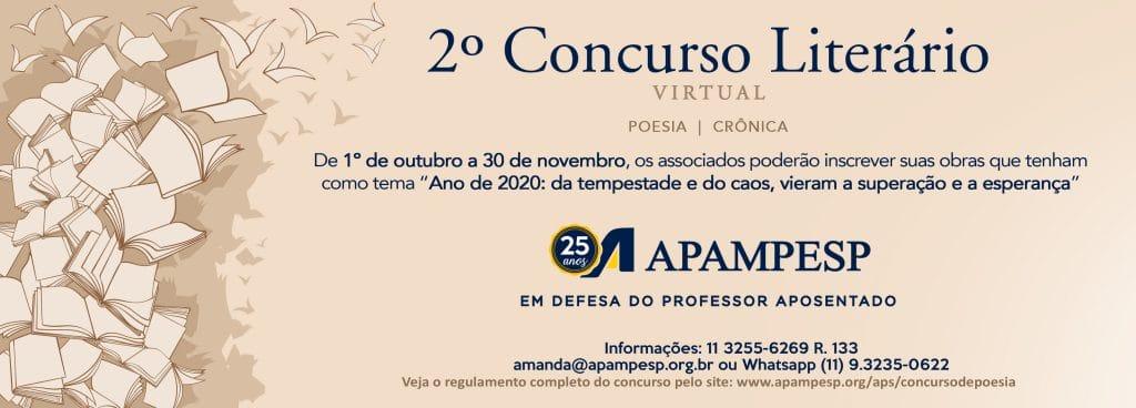 II Concurso Literario da APAMPESP